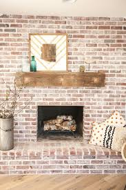 How To Update Brick Fireplace by Best 25 Whitewash Brick Fireplaces Ideas On Pinterest White