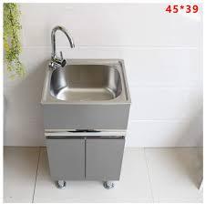 metal kitchen sink and cabinet combo lcf stainless steel kitchen sink bathroom vanity