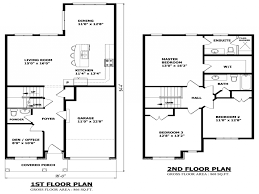 apartments two story bedroom story house floor plans storey