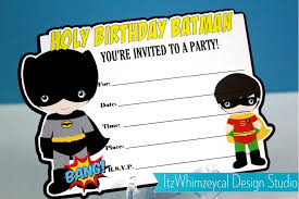 batman invitation templates eliolera com