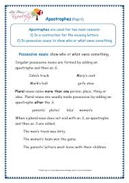 grade 3 grammar topic 31 apostrophe worksheets lets share knowledge