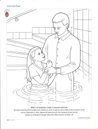 sacrament baptism coloring page jesus pages orthodox