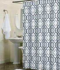 max studio home 100 percent cotton shower curtain moroccan tile