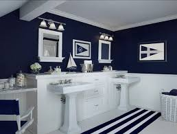 navy blue bathroom ideas nautical themed bathroom decor nautical bathroom decor