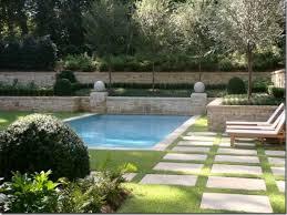 landscaping around inground pool ideas