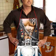 tablier de cuisine homme humoristique tablier biker free rider
