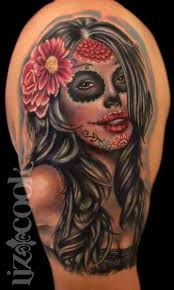 day dead flower tattoos best flower 2017