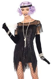 Halloween Burglar Costume Women U0027s Foxtrot Flapper Costume Costumes