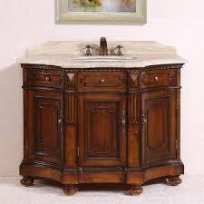 Legion Bathroom Vanity by Legion 48 Inch Medium Brown Single Sink Bathroom Vanity