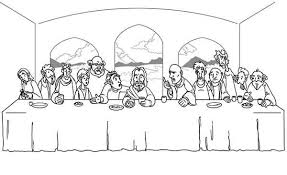 Last Supper Coloring Pages Bestcameronhighlandsapartment Com Last Supper Coloring Page