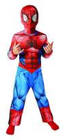 Spiderman Halloween Costumes Kids Rubie U0027s Official Classic Ultimate Spiderman Children Costume