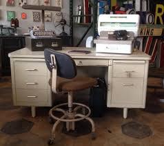 Steelcase Desk Vintage Steelcase Metal Tanker Desk Sold Paper Street Market