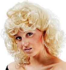 sandy from grease blonde wig sandra d fancy dress