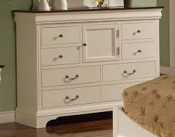 Bedroom Furniture Dresser Renaissance Cherry White 10 Drawer Dresser By Winners Only