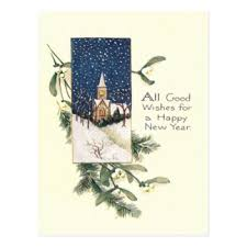 new year post card new years postcards zazzle