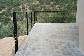 exterior balcony cable railing pascetti steel design inc