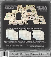 amazon com dry erase 10 inch dungeon tiles pack of 9 toys u0026 games
