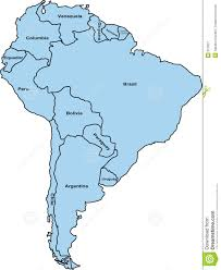south america map royalty free stock photography image 627927