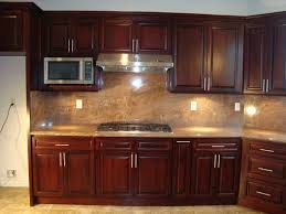 kitchen backsplash cherry cabinets kitchen backsplash ideas with cherry cabinets beautiful kitchen