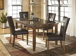 Ashley Curio Cabinets Dining Room Furniture Ashley D328 Lacey 5pc Dining Set