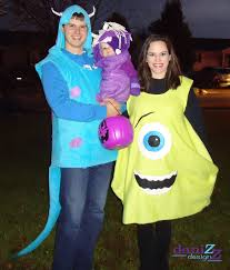 Monster Inc Halloween Costumes Diy Boo Costume Monsters Inc Freeatvs Info