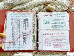 gift idea diy recipe book cottage in the oaks