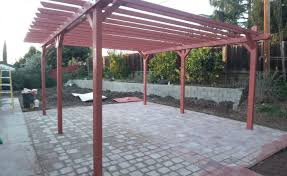 Patio Trellis Ideas Roof How To Build A Patio Roof Beguile How To Build A Roof On My