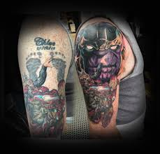 cover up tattoos and colour tattoos in glasgow
