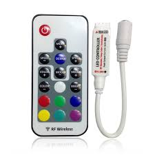 Mini Led Light Strips by 17 Key Wireless Remote Controller For 5050 3528 Rgb Led Light Strips