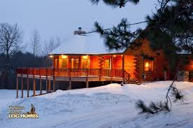 Winter Houses Golden Eagle Log And Timber Homes Log Home Cabin Pictures