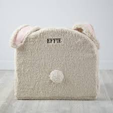 Pink Fur Chair Large Bunny Nod Chair The Land Of Nod