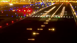 model airport runway lights airport videos and b roll footage getty images