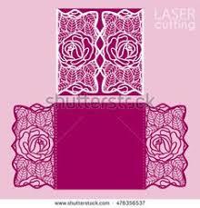 digital template laser cut wedding invitation printable 6x8 5
