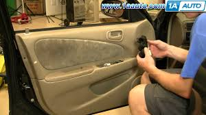 how to install replace power window switch toyota corolla 98 02