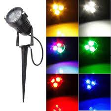 Landscape Lighting Wholesale 1pc 3w Led Landscape Lighting Outdoor Flood Lights Spike Spotlight