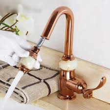 rose gold antique bathroom sink faucets pullout 122 99