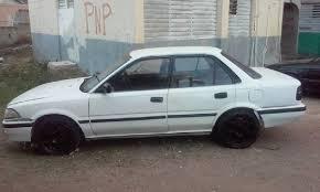 Toyota Corolla 1989 1989 Toyota Corolla Flatty For Sale In Kingston Jamaica For