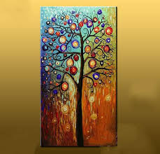 painted abstract painting large canvas cheap modern
