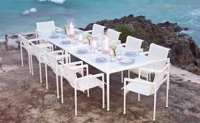 richard schultz 1966 rectangular dining table hivemodern com
