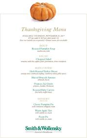 thanksgiving at smith wollensky steakhouse chicago events
