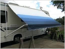 Rv Slide Awnings Rv Slide Out Topper Fabric Trailerslidetopper Fix For Sagging
