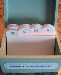 organize address and phone numbers the idea room organization tips