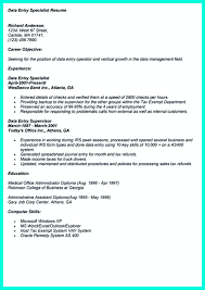 resume sle of accounting clerk test speed your data entry resume is the essential marketing key to get the