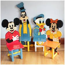 mickey mouse kids table f3136 set of 4 mickey mouse child chairs bogart bremmer bradley