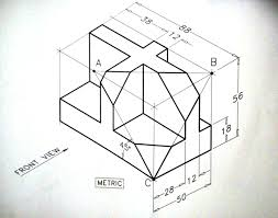 isometric drawing to 3d question archive autocad forums