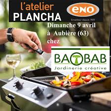 cours de cuisine dimanche atelier plancha eno dimanche 9 avril chez baobab à aubière cours