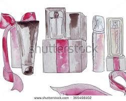 vector hand drawn graphic fashion sketch stock vector 408771940