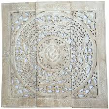 fashionable carved wooden wall panel white wood door spain