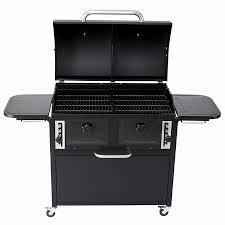 backyard classic twin chamber charcoal grill in arnold letgo