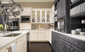 how to two tone kitchen design blog